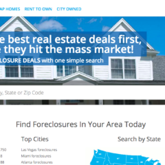 Foreclosure.com homepage