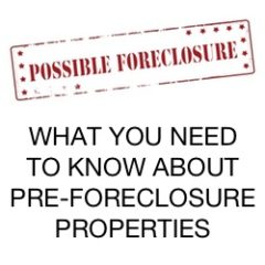 pre-foreclosure properties