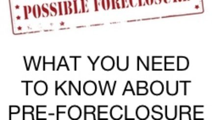 pre-foreclosure properties